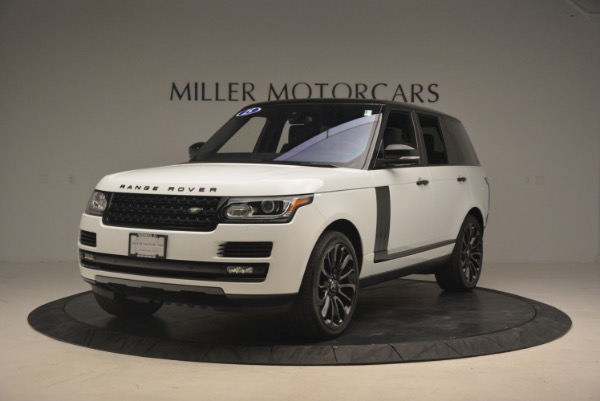 Used 2015 Land Rover Range Rover Supercharged for sale Sold at McLaren Greenwich in Greenwich CT 06830 1