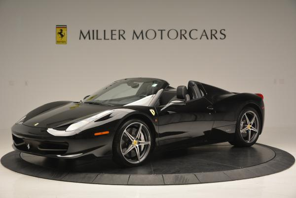 Used 2012 Ferrari 458 Spider for sale Sold at McLaren Greenwich in Greenwich CT 06830 2