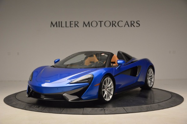 Used 2018 McLaren 570S Spider for sale Call for price at McLaren Greenwich in Greenwich CT 06830 2