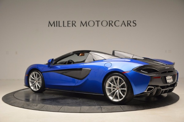 Used 2018 McLaren 570S Spider for sale Call for price at McLaren Greenwich in Greenwich CT 06830 4