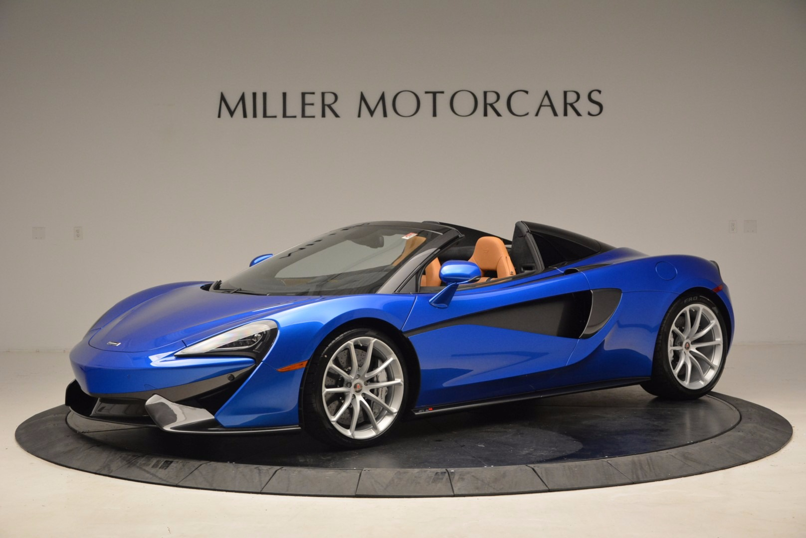 Used 2018 McLaren 570S Spider for sale Call for price at McLaren Greenwich in Greenwich CT 06830 1