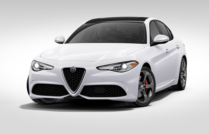 New 2017 Alfa Romeo Giulia Q4 for sale Sold at McLaren Greenwich in Greenwich CT 06830 1