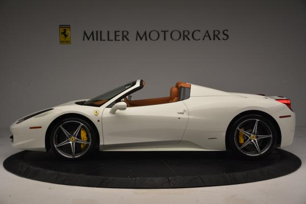 Used 2012 Ferrari 458 Spider for sale Sold at McLaren Greenwich in Greenwich CT 06830 3