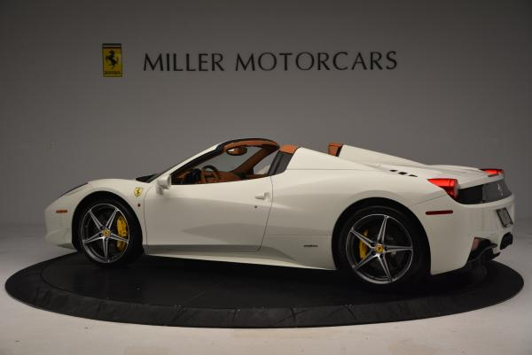 Used 2012 Ferrari 458 Spider for sale Sold at McLaren Greenwich in Greenwich CT 06830 4
