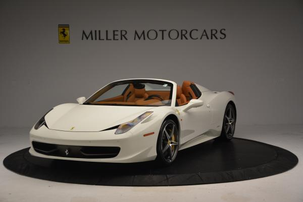 Used 2012 Ferrari 458 Spider for sale Sold at McLaren Greenwich in Greenwich CT 06830 1