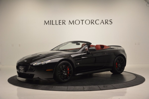 Used 2015 Aston Martin V12 Vantage S Roadster for sale Sold at McLaren Greenwich in Greenwich CT 06830 2