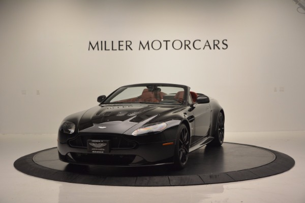 Used 2015 Aston Martin V12 Vantage S Roadster for sale Sold at McLaren Greenwich in Greenwich CT 06830 1
