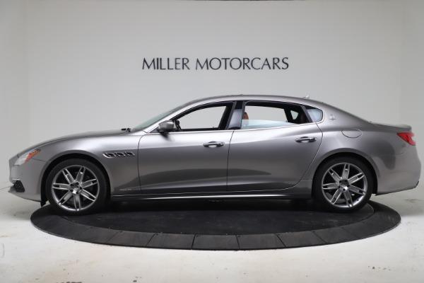 Used 2017 Maserati Quattroporte SQ4 GranLusso/ Zegna for sale $62,900 at McLaren Greenwich in Greenwich CT 06830 3
