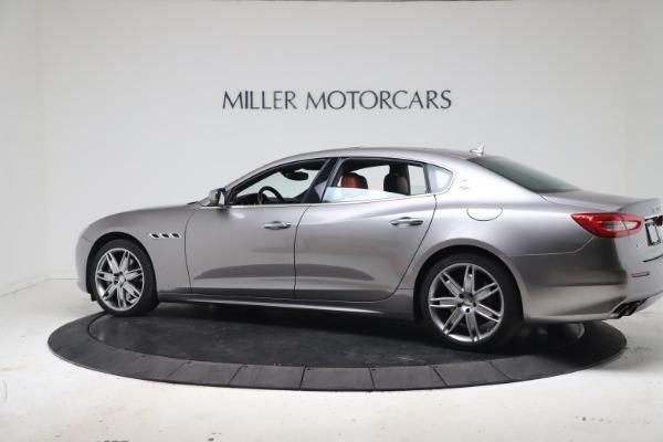 Used 2017 Maserati Quattroporte SQ4 GranLusso/ Zegna for sale $62,900 at McLaren Greenwich in Greenwich CT 06830 4