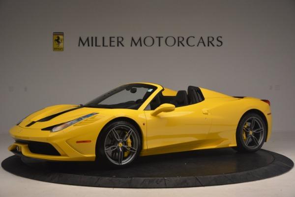 Used 2015 Ferrari 458 Speciale Aperta for sale Sold at McLaren Greenwich in Greenwich CT 06830 2