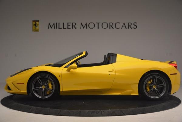 Used 2015 Ferrari 458 Speciale Aperta for sale Sold at McLaren Greenwich in Greenwich CT 06830 3