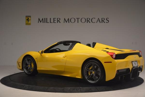 Used 2015 Ferrari 458 Speciale Aperta for sale Sold at McLaren Greenwich in Greenwich CT 06830 4