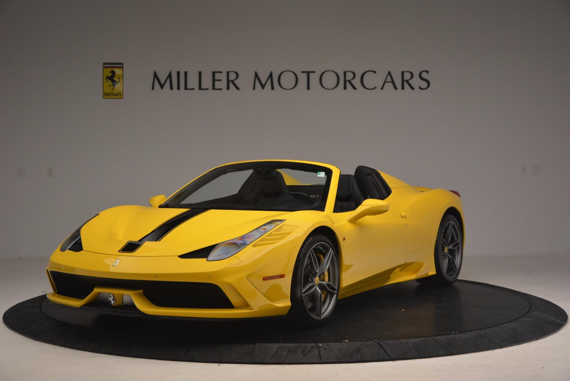 Used 2015 Ferrari 458 Speciale Aperta for sale Sold at McLaren Greenwich in Greenwich CT 06830 1