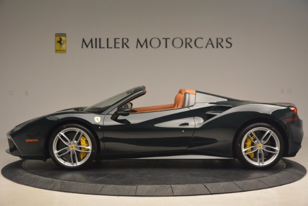 Used 2016 Ferrari 488 Spider for sale Sold at McLaren Greenwich in Greenwich CT 06830 3