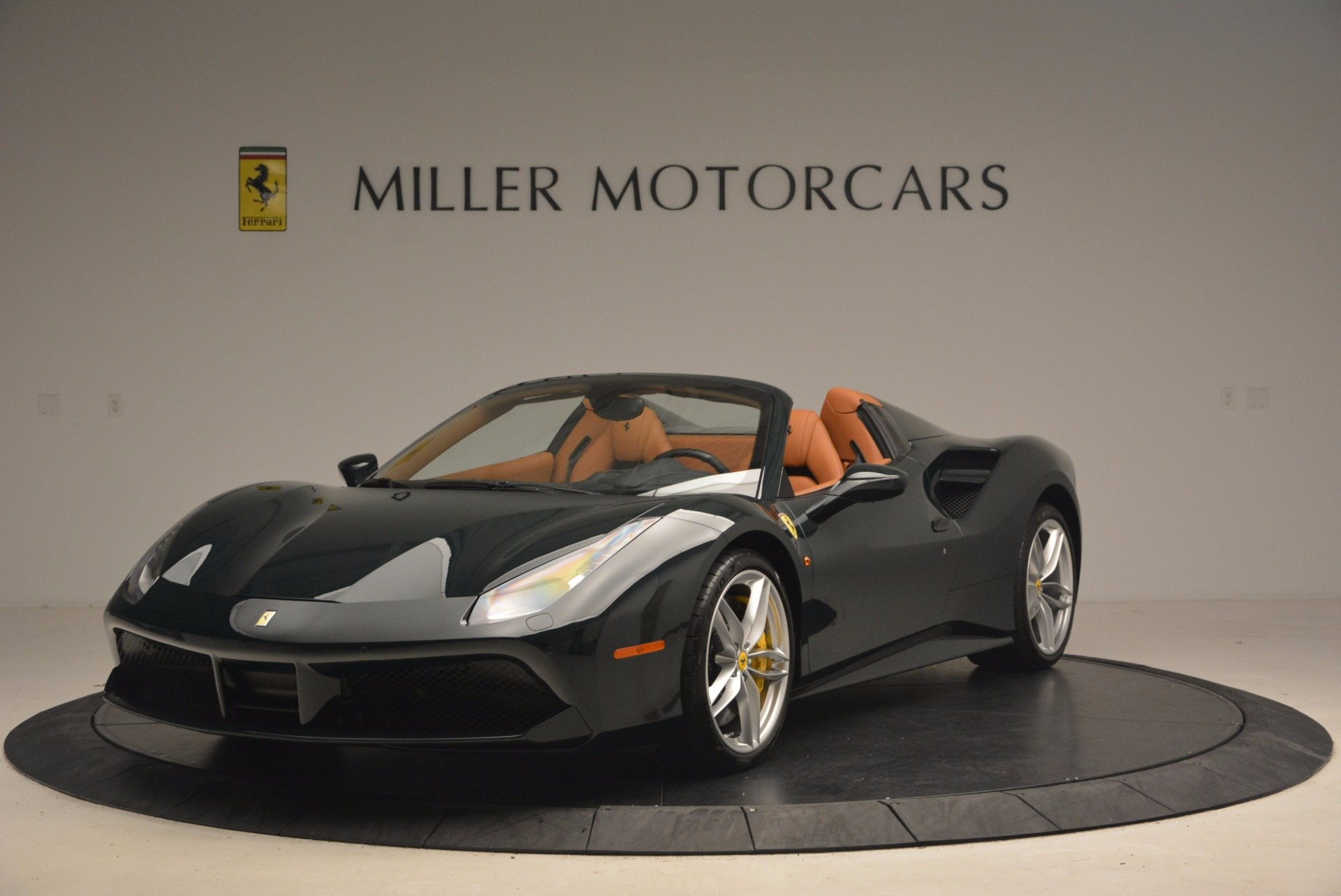Used 2016 Ferrari 488 Spider for sale Sold at McLaren Greenwich in Greenwich CT 06830 1