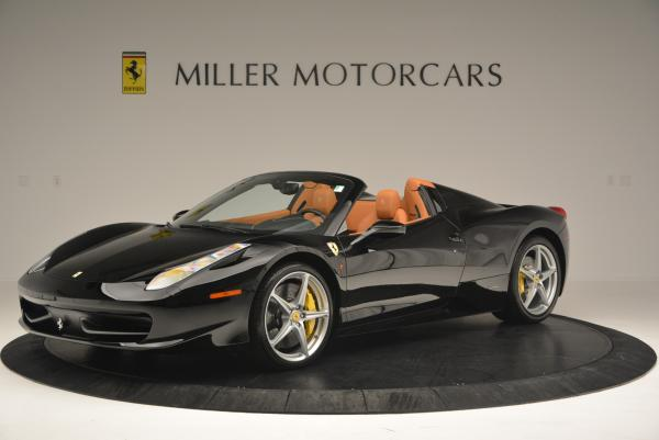 Used 2015 Ferrari 458 Spider for sale Sold at McLaren Greenwich in Greenwich CT 06830 2
