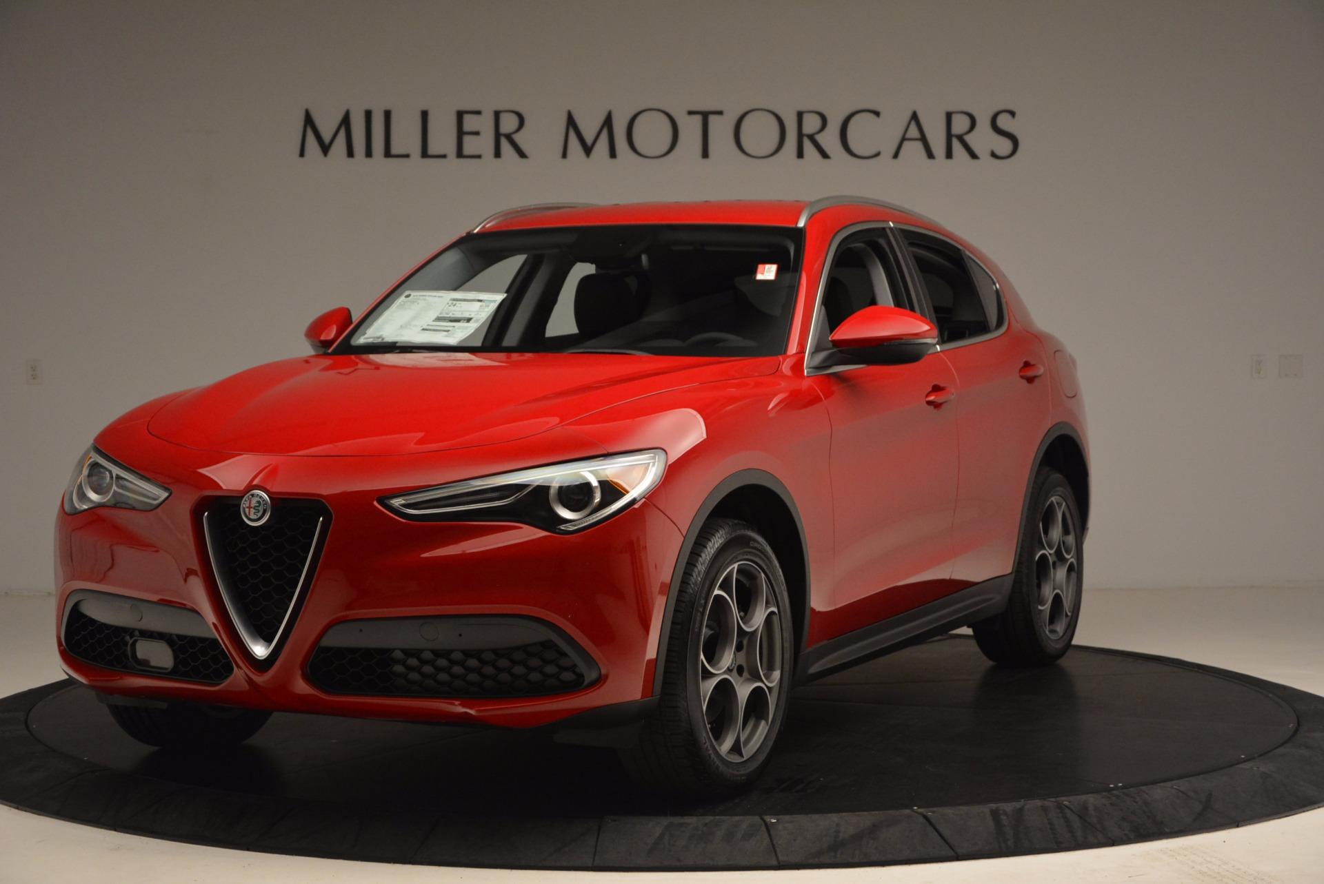 New 2018 Alfa Romeo Stelvio for sale Sold at McLaren Greenwich in Greenwich CT 06830 1