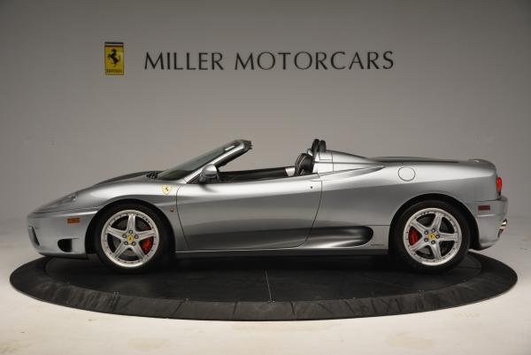 Used 2004 Ferrari 360 Spider 6-Speed Manual for sale Sold at McLaren Greenwich in Greenwich CT 06830 3