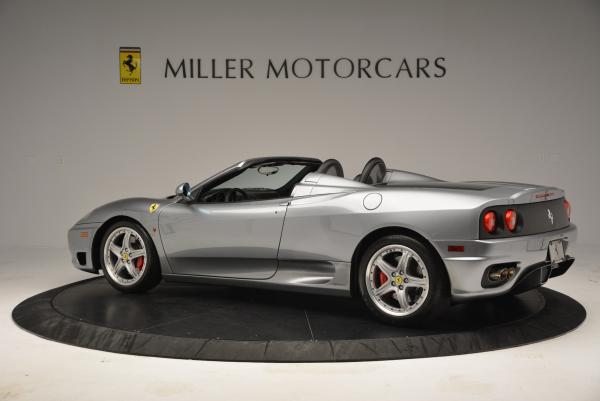 Used 2004 Ferrari 360 Spider 6-Speed Manual for sale Sold at McLaren Greenwich in Greenwich CT 06830 4