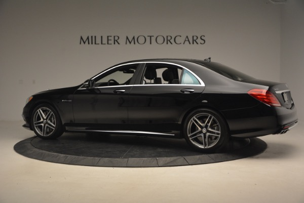 Used 2015 Mercedes-Benz S-Class S 65 AMG for sale Sold at McLaren Greenwich in Greenwich CT 06830 4