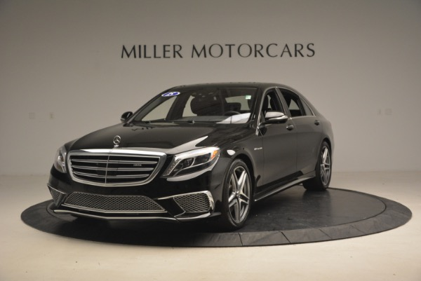 Used 2015 Mercedes-Benz S-Class S 65 AMG for sale Sold at McLaren Greenwich in Greenwich CT 06830 1