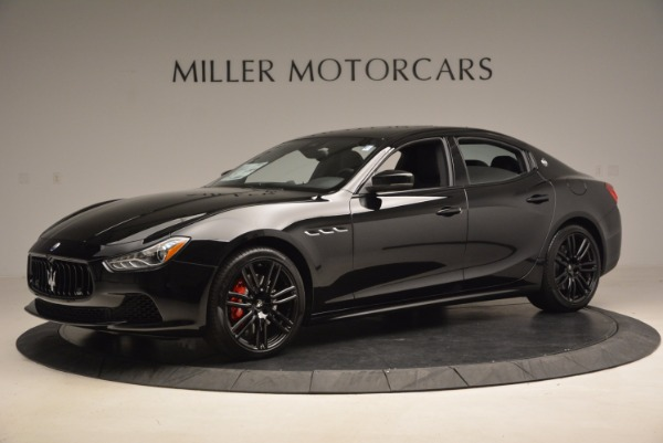 New 2017 Maserati Ghibli Nerissimo Edition S Q4 for sale Sold at McLaren Greenwich in Greenwich CT 06830 2