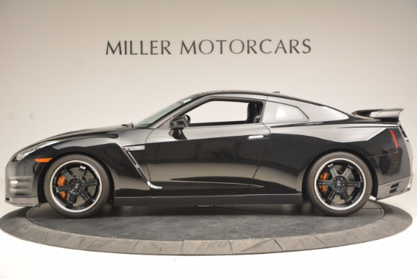 Used 2014 Nissan GT-R Track Edition for sale Sold at McLaren Greenwich in Greenwich CT 06830 3