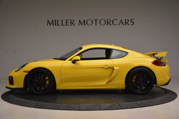 Used 2016 Porsche Cayman GT4 for sale Sold at McLaren Greenwich in Greenwich CT 06830 3