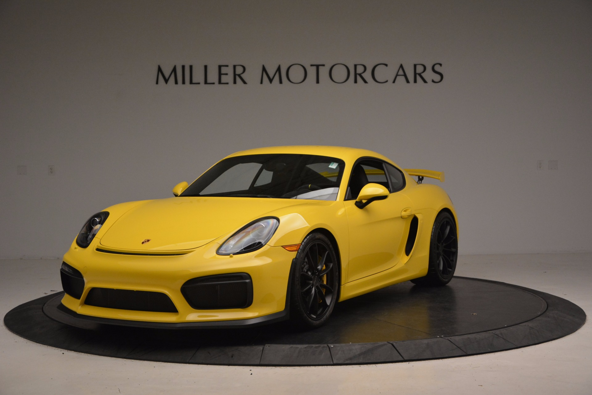 Used 2016 Porsche Cayman GT4 for sale Sold at McLaren Greenwich in Greenwich CT 06830 1