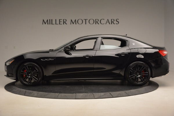 New 2017 Maserati Ghibli Nerissimo Edition S Q4 for sale Sold at McLaren Greenwich in Greenwich CT 06830 3