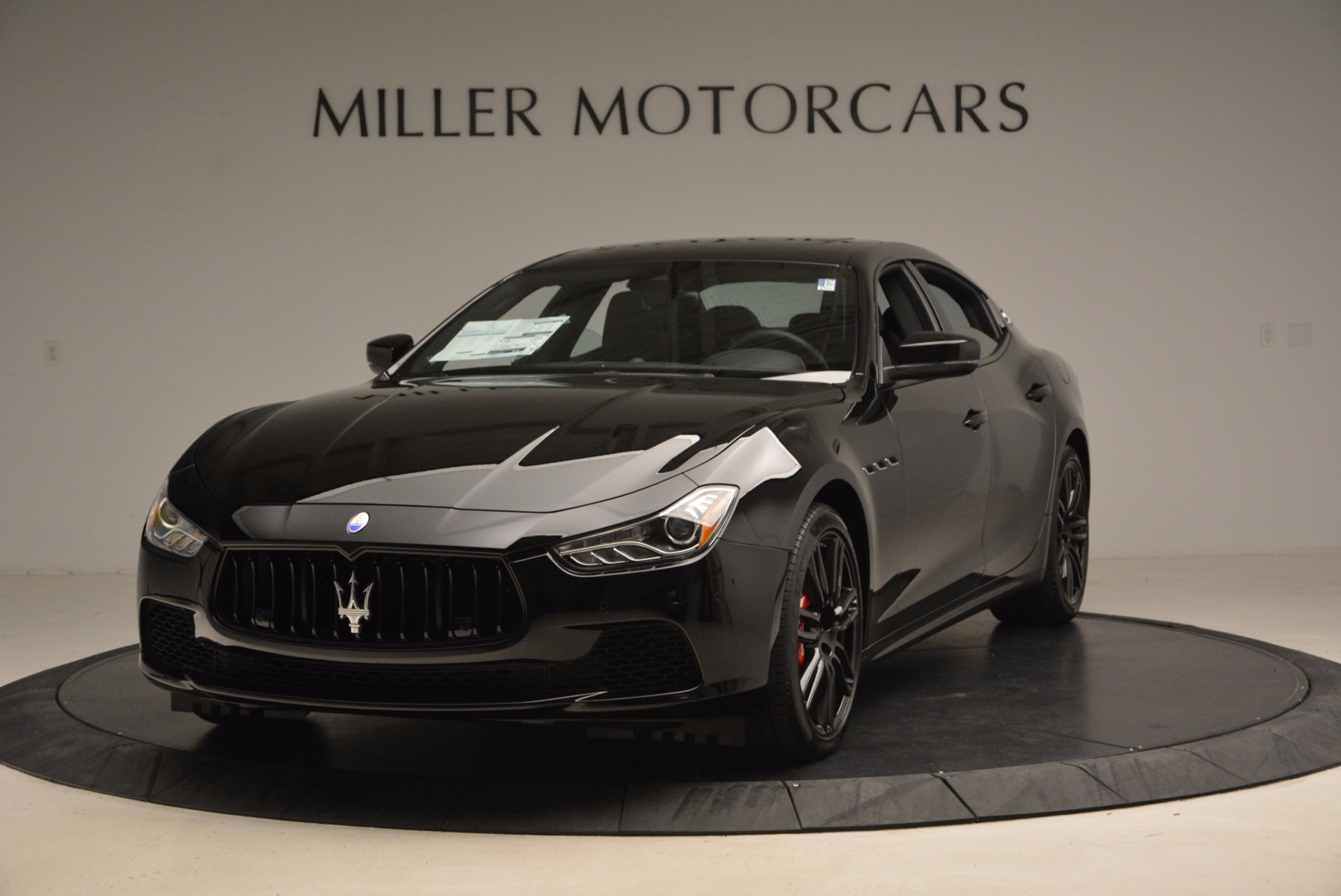 New 2017 Maserati Ghibli Nerissimo Edition S Q4 for sale Sold at McLaren Greenwich in Greenwich CT 06830 1