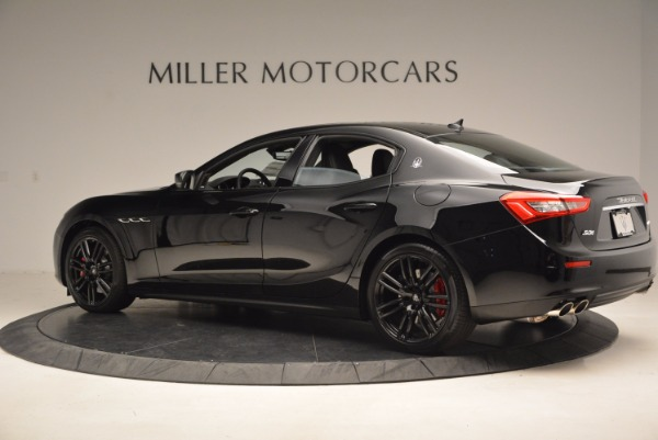 New 2017 Maserati Ghibli Nerissimo Edition S Q4 for sale Sold at McLaren Greenwich in Greenwich CT 06830 4