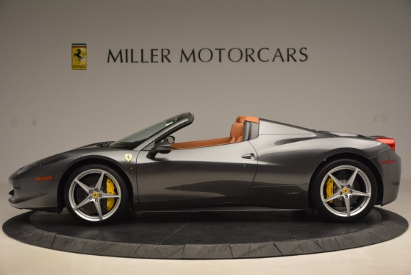 Used 2015 Ferrari 458 Spider for sale Sold at McLaren Greenwich in Greenwich CT 06830 3
