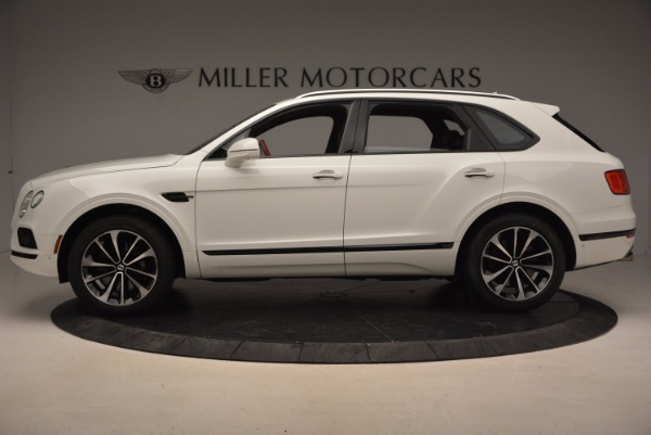 New 2018 Bentley Bentayga Onyx for sale Sold at McLaren Greenwich in Greenwich CT 06830 3