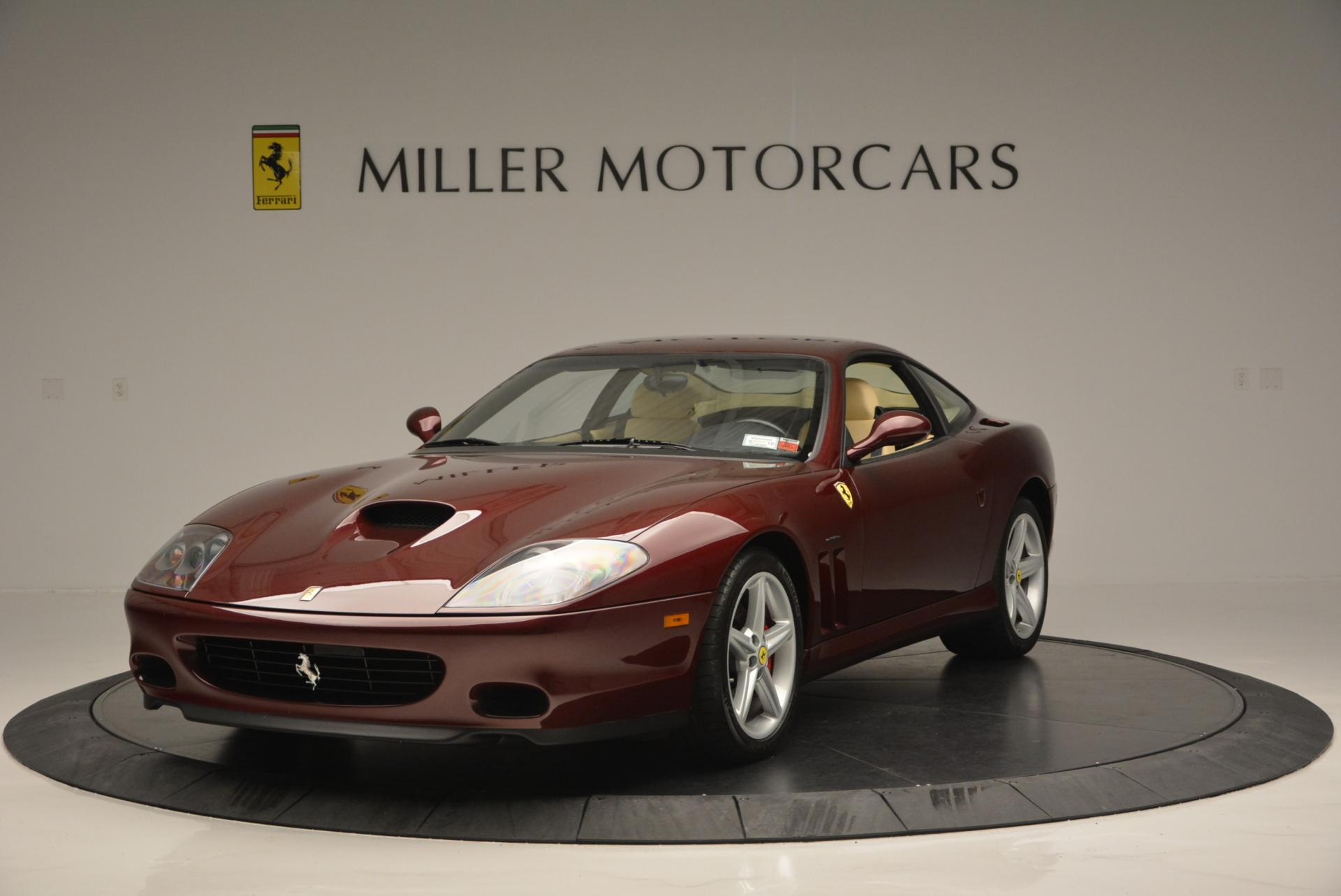 Used 2003 Ferrari 575M Maranello 6-Speed Manual for sale Sold at McLaren Greenwich in Greenwich CT 06830 1