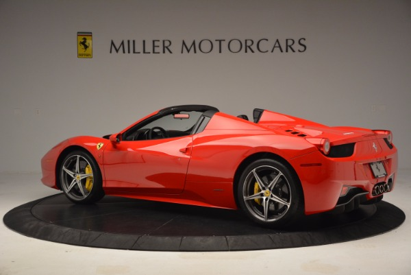 Used 2014 Ferrari 458 Spider for sale Sold at McLaren Greenwich in Greenwich CT 06830 4