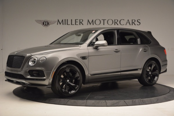 New 2018 Bentley Bentayga Black Edition for sale Sold at McLaren Greenwich in Greenwich CT 06830 3