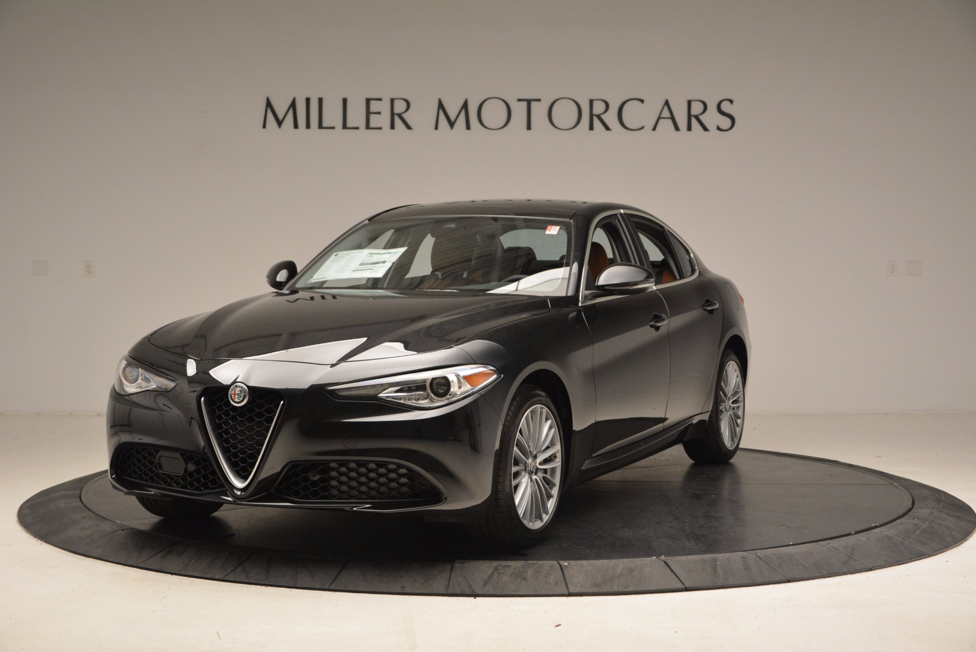 New 2017 Alfa Romeo Giulia Ti Lusso Q4 for sale Sold at McLaren Greenwich in Greenwich CT 06830 1