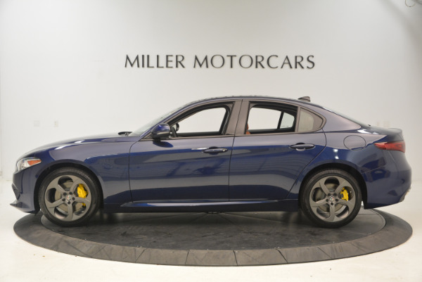New 2017 Alfa Romeo Giulia Ti Q4 for sale Sold at McLaren Greenwich in Greenwich CT 06830 3