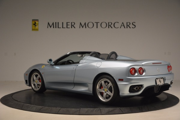Used 2003 Ferrari 360 Spider 6-Speed Manual for sale Sold at McLaren Greenwich in Greenwich CT 06830 4