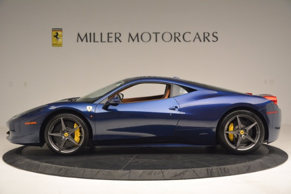 Used 2013 Ferrari 458 Italia for sale Sold at McLaren Greenwich in Greenwich CT 06830 3