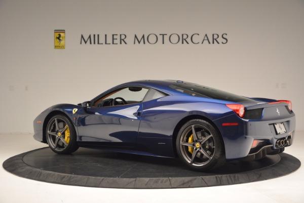 Used 2013 Ferrari 458 Italia for sale Sold at McLaren Greenwich in Greenwich CT 06830 4