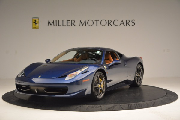 Used 2013 Ferrari 458 Italia for sale Sold at McLaren Greenwich in Greenwich CT 06830 1