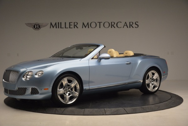 Used 2012 Bentley Continental GTC W12 for sale Sold at McLaren Greenwich in Greenwich CT 06830 2