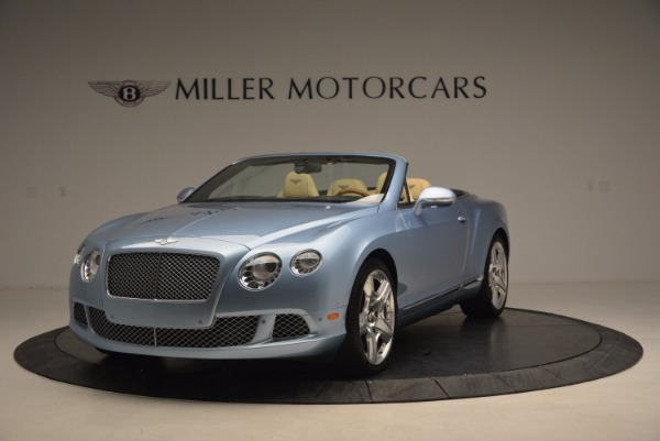 Used 2012 Bentley Continental GTC W12 for sale Sold at McLaren Greenwich in Greenwich CT 06830 1