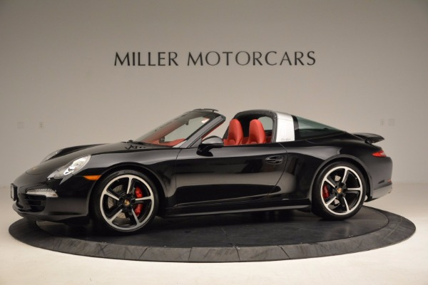Used 2015 Porsche 911 Targa 4S for sale Sold at McLaren Greenwich in Greenwich CT 06830 2