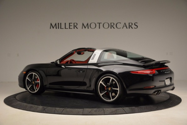 Used 2015 Porsche 911 Targa 4S for sale Sold at McLaren Greenwich in Greenwich CT 06830 4