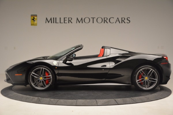 Used 2017 Ferrari 488 Spider for sale Sold at McLaren Greenwich in Greenwich CT 06830 3
