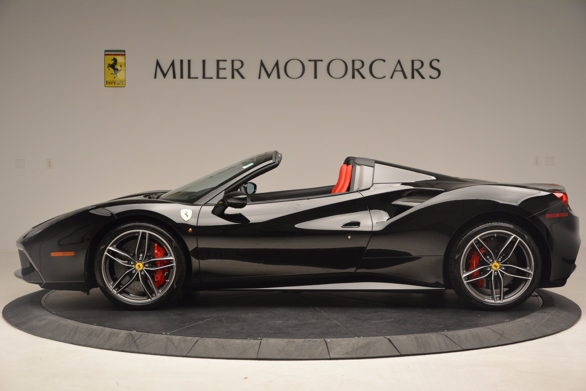 Pre Owned 2017 Ferrari 488 Spider For Sale Special Pricing Mclaren Greenwich Stock 4411