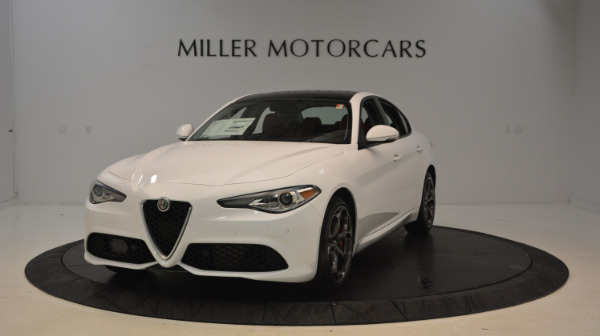 New 2017 Alfa Romeo Giulia Ti Sport Q4 for sale Sold at McLaren Greenwich in Greenwich CT 06830 1